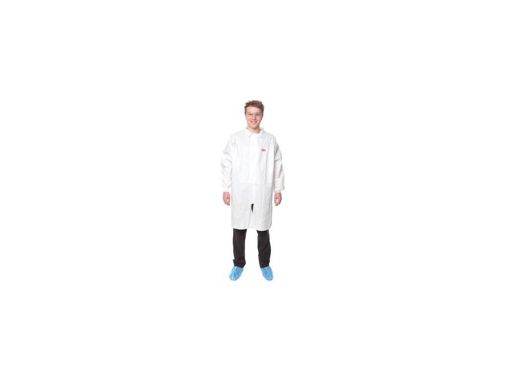 4440XL Laboratorní plášť, bílý, velikost XL, jednorázový