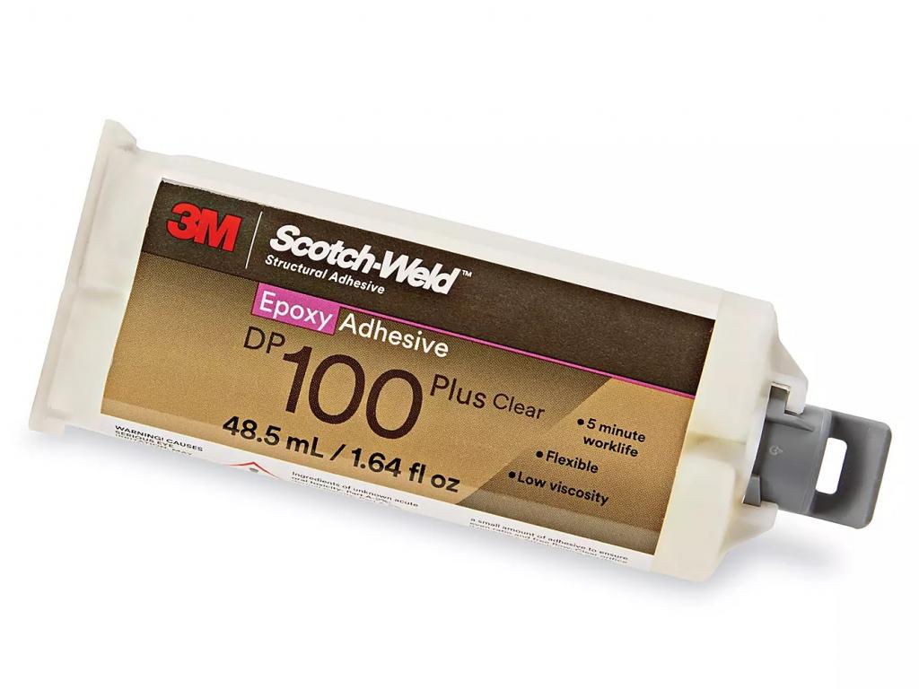 SCOTCH-WELD DP100 Plus 3M velmi rychlé čiré lepidlo s nízkou viskozitou 48,5ml