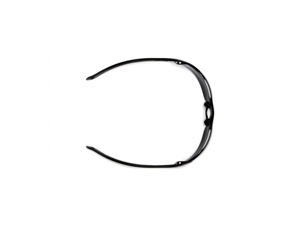 Pmxslim ESB7110ST, ochranné brýle, nemlživé, černá obruba, čiré