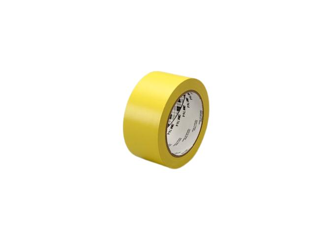 764i žlutá označovací PVC páska, návin 33 m, tloušťka 0,125 mm