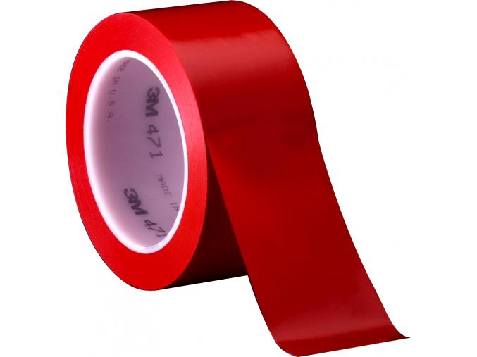 471 červená vinylová páska