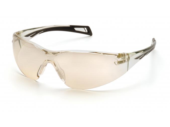 Pmxslim ESB7180S, ochranné brýle, zrcadlové, černá obruba, I/O