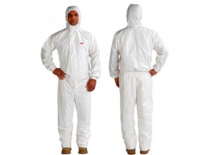 3m protective coverall 4545 font back product image