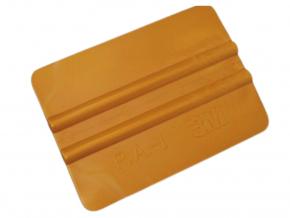 Zlatá jemná stěrka 3M z jemného plastu na aplikaci fólií