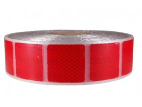 Reflexní páska na plachty 3M Diamond Grade 997.72S červená, šíře 50 mm, cena za 1 metr