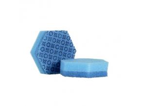 Houbička na nádobí Scotch-Brite Sponge Power 3000, modrá, 71 mm x 114 mm