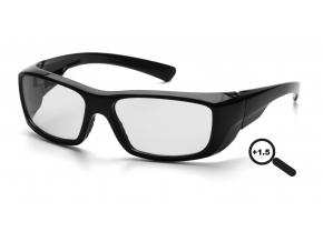 Emerge ESB7910D15, ochranné brýle + 1.5 dioptrie, černá obruba, čiré