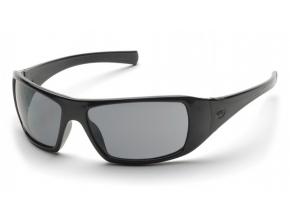 Goliath ESB5621D, ochranné polarizační brýle, černá obruba, šedé