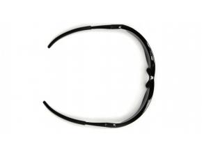 Mayan ESB2610DP, ochranné brýle, černé obruba, čiré