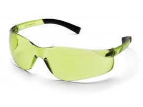 Ztek ES2514S, ochranné brýle, IR 1.5 filtr, černé postranice, světle zelené