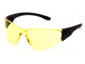 Trulock ESB9530, ochranné brýle, černá obruba, jasně žluté