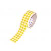 Logistická samolepicí kolečka z pásky 3M 764i, ? 11 mm, balení 3000 ks, žluté