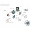 7502 MEDIUM 3M filtrační polomaska pro dva ochranné filtry extrémního prostředí, střední velikost