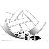 Utěrka 3M Scotch-Brite 2012 modrá víceúčelová utěrka pro suché i mokré použití