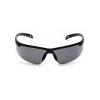 Ever-Lite ESB8620DT, ochranné brýle, nemlživé, černá obruba, šedé