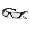 Emerge ESB7910D20, ochranné brýle + 2.0 dioptrie, černá obruba, čiré