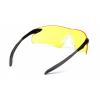 Intrepid II ESB8830S, ochranné brýle, černá obruba, jasně žluté