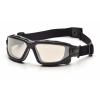 I-Force ESB7080SDT, ochranné brýle, nemlživé, černá obruba, I/O zorník