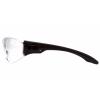Trulock ESB9510S, ochranné brýle, černá obruba, čiré